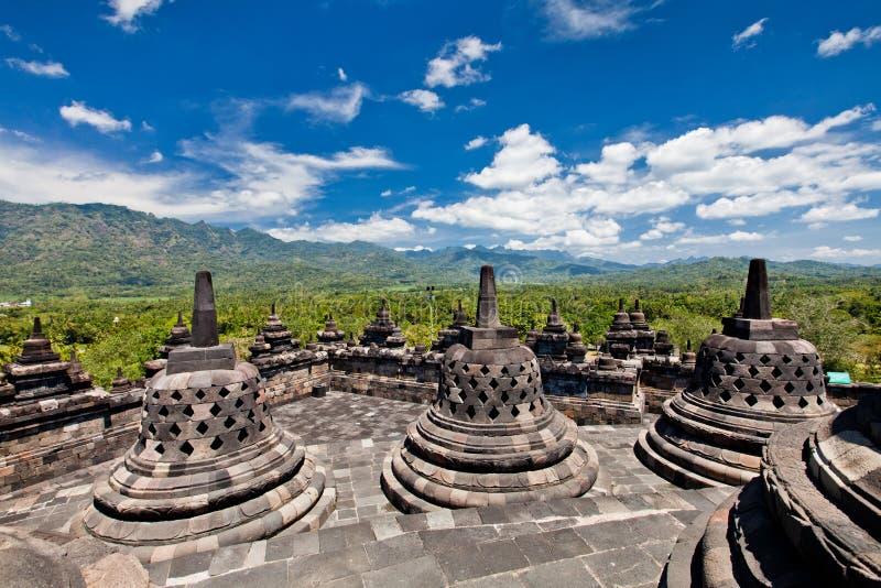 borobudur buddyjska Java stara świątynia Yogyakarta zdjęcia royalty free