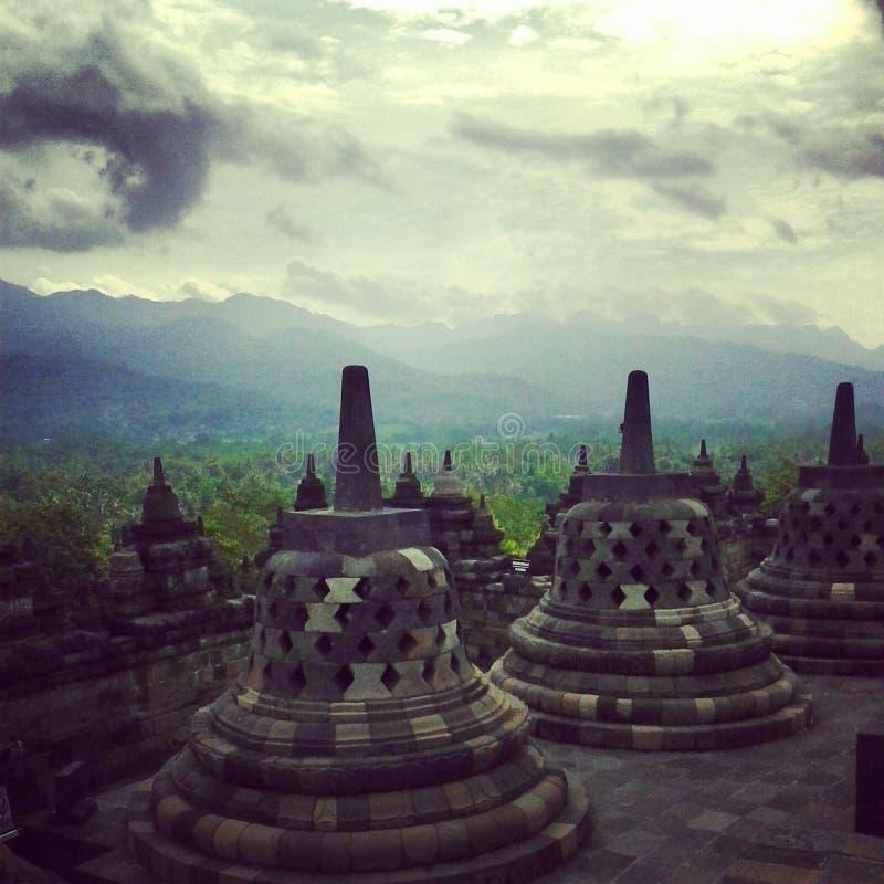 Borobudur de Candi imagen de archivo libre de regalías