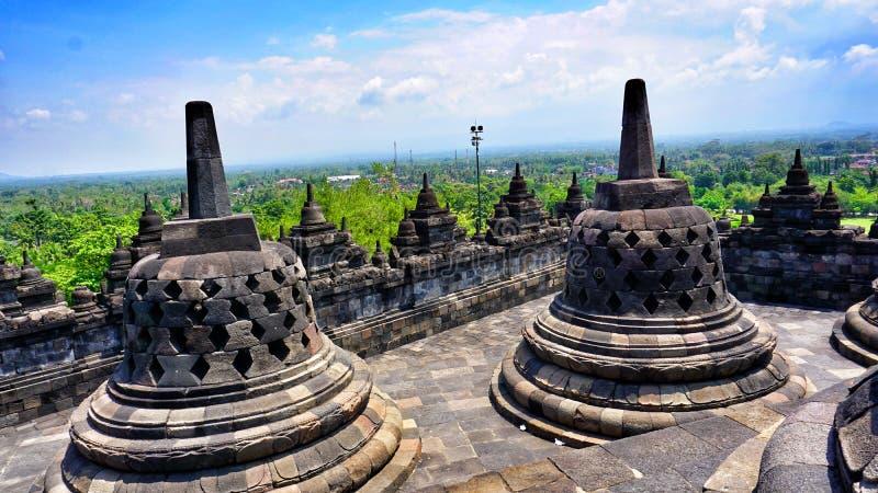 Borobudur de Candi imagen de archivo
