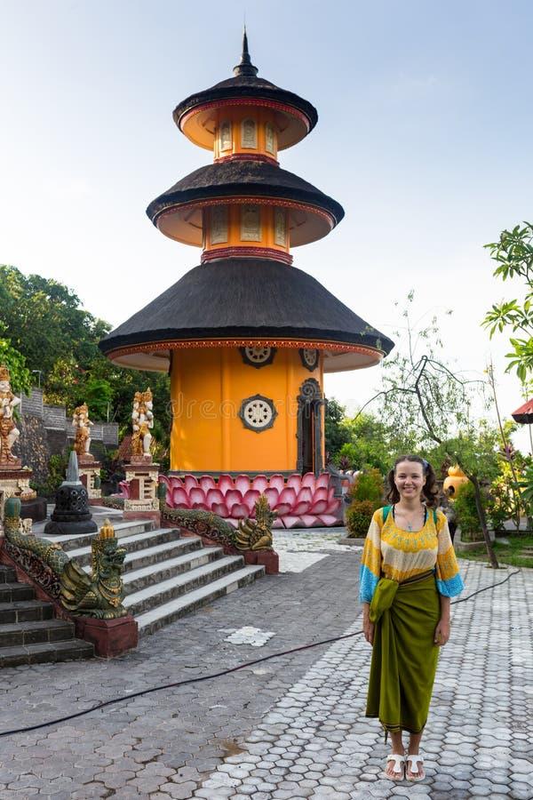 Borobudur, el templo budista más grande en Java, Indonesia fotos de archivo libres de regalías