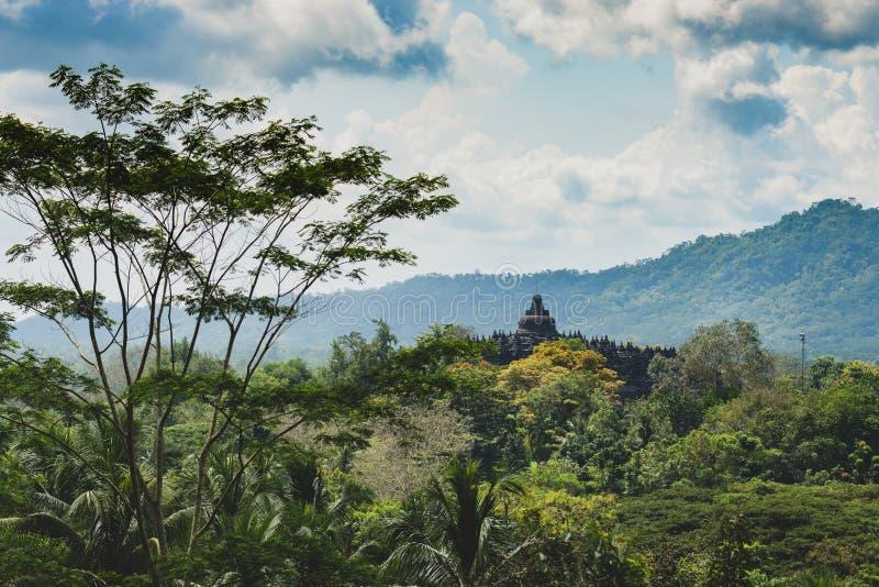 Borobudur Indonesia fotografia stock libera da diritti