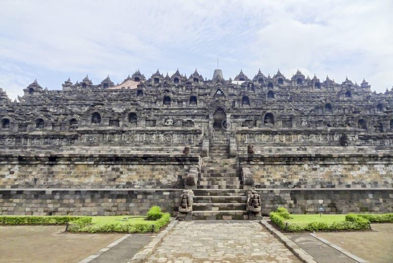 Borobudur in Java immagine stock