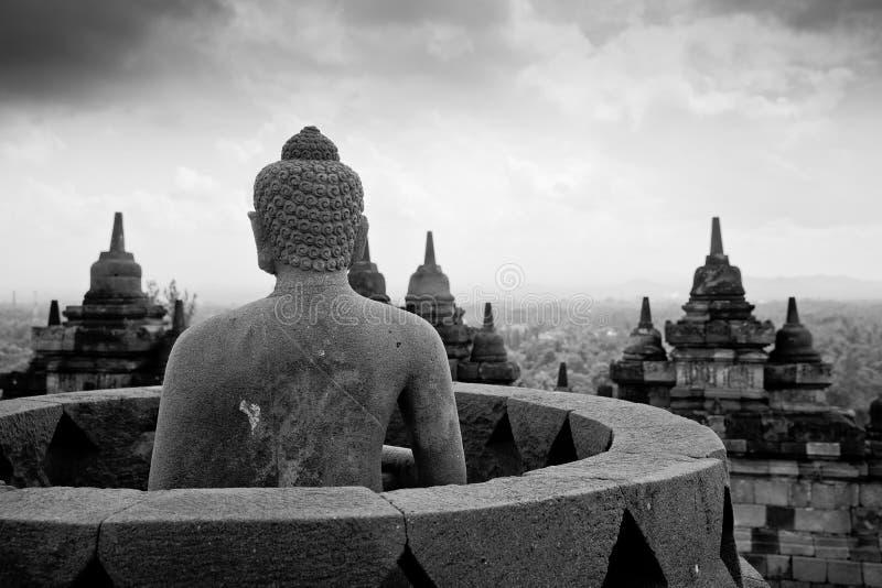 Borobudur java l'indonésie photos libres de droits