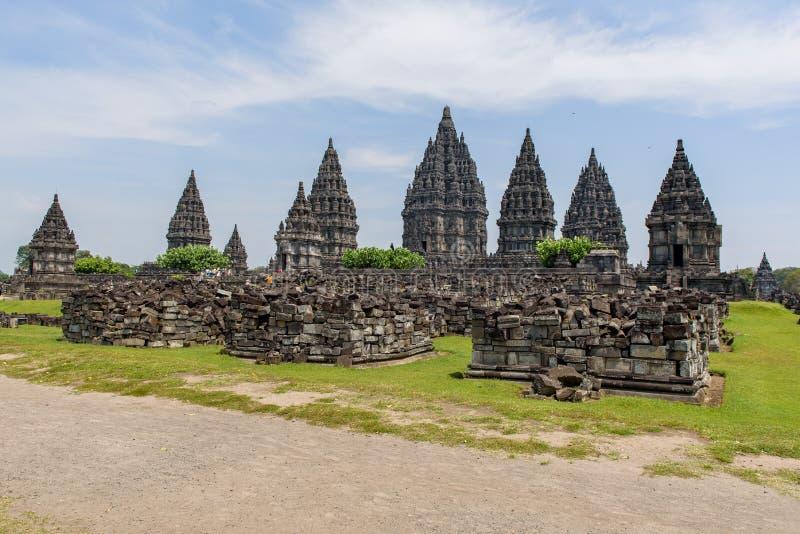 Borobudur kompleks w Yogjakarta w Jawa, Indonesia obrazy stock