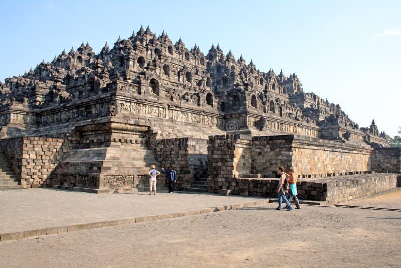 Borobudur Stupa stock afbeeldingen