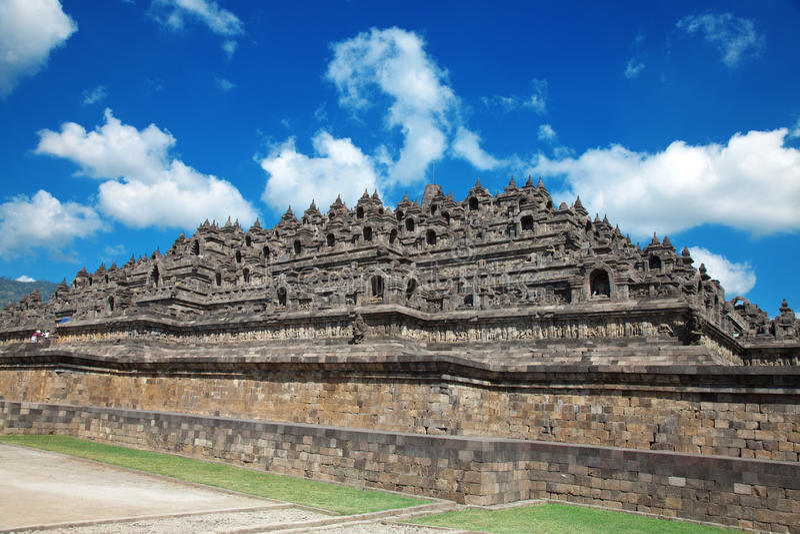 Borobudur Temple Indonesia stock photography