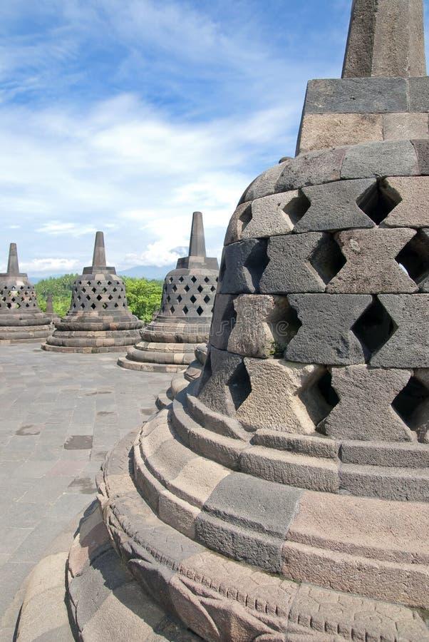Borobudur Temple Series 03 Royalty Free Stock Photography