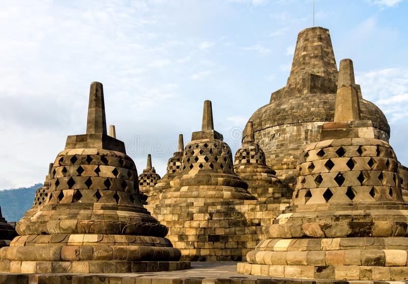 Download Borobudur Temple Stupas, Java Island, Indonesia Stock Photo - Image: 26418660