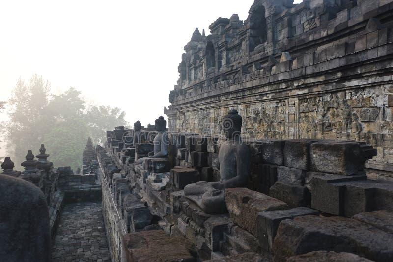 Borobudur temple in Yogyakarta royalty free stock photos