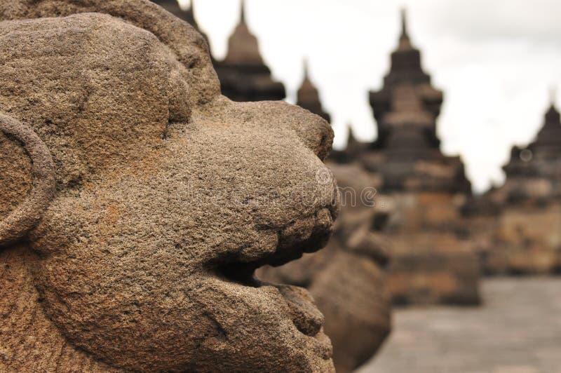 Borobudur, un temple bouddhiste à Yogyakarta s'est inscrit sur l'UNESCO images stock