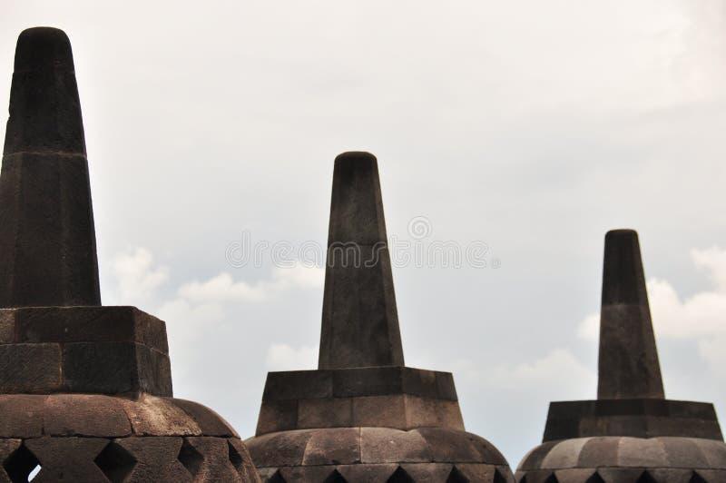 Borobudur, un temple bouddhiste à Yogyakarta s'est inscrit sur l'UNESCO photographie stock
