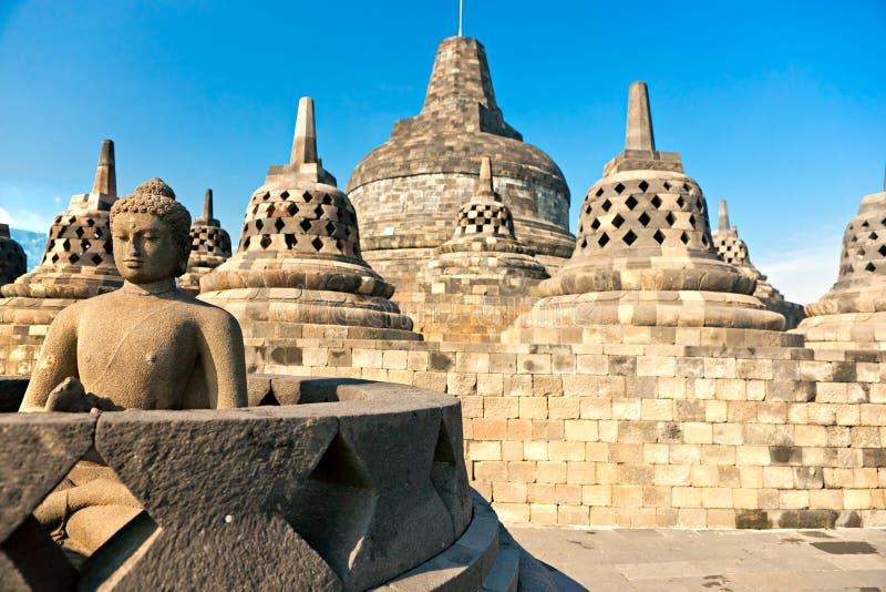 borobudur yogyakarta ναών της Ινδονησίας Ιάβ στοκ φωτογραφία