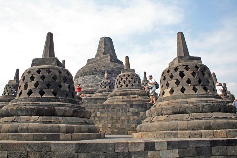 Borobudurklokken royalty-vrije stock afbeelding