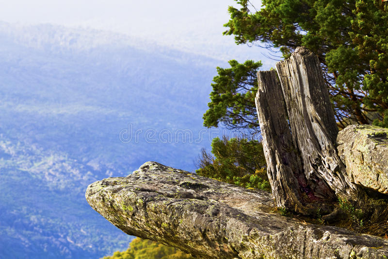 Boroka Ausblick Grampians im Nationalpark, AU lizenzfreie stockfotografie
