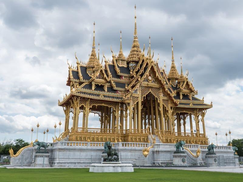 Borommaha Mangkhalanusoranee Pavillion στοκ φωτογραφία με δικαίωμα ελεύθερης χρήσης