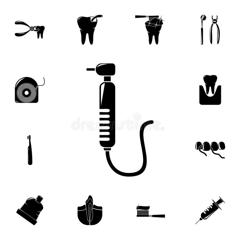 boron machine icon. Detailed set of Dental icons. Premium quality graphic design sign. One of the collection icons for websites, w royalty free illustration