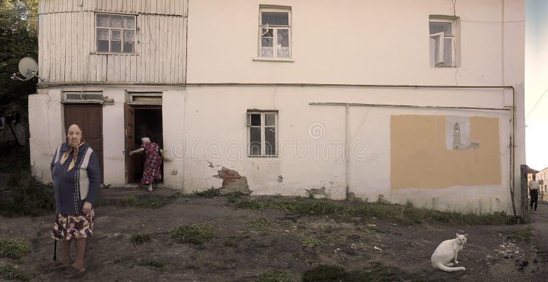 Borovsk, Rusland royalty-vrije stock foto's