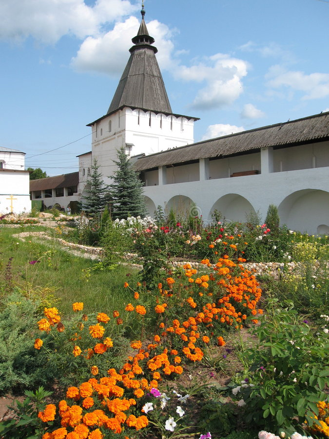 Borovskiy monastery, Russia royalty free stock images