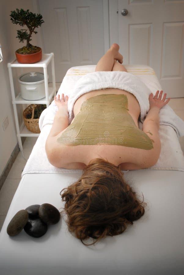 borowinowa terapia zdjęcia stock