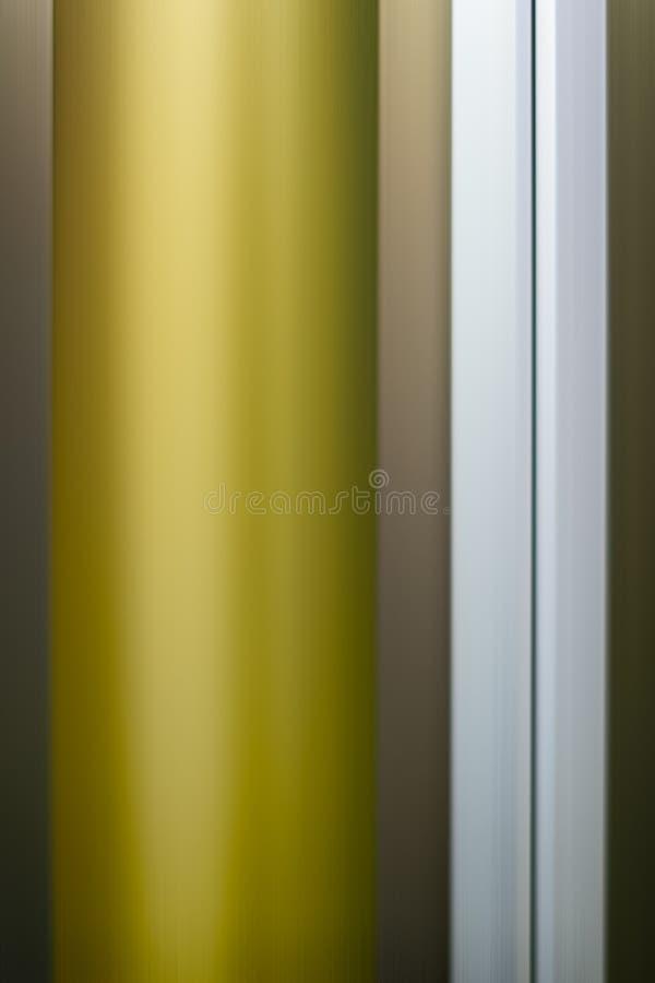 Borrão de movimento claro dourado do sumário foto de stock royalty free