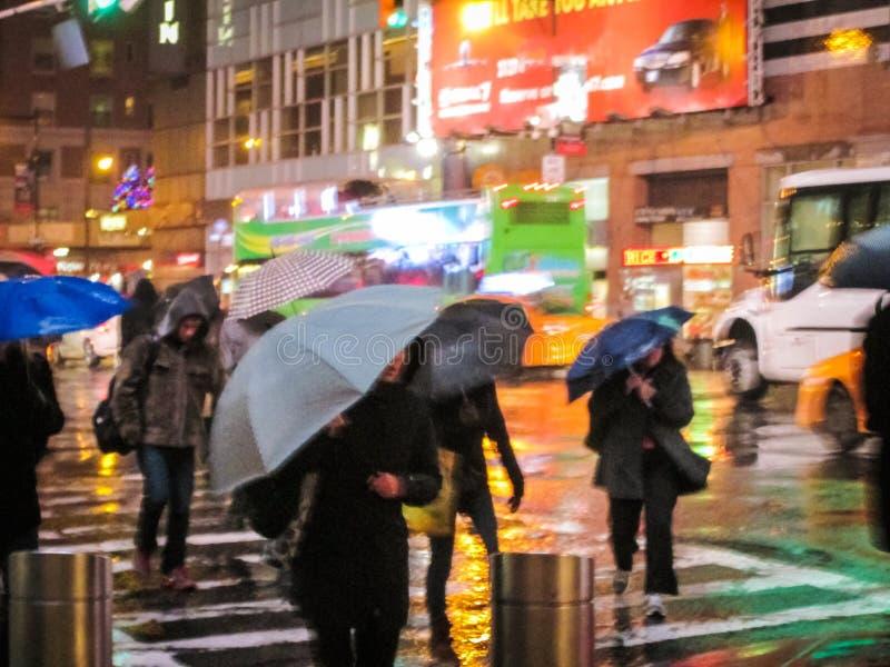 Borrão do sumário do dia chuvoso fotografia de stock