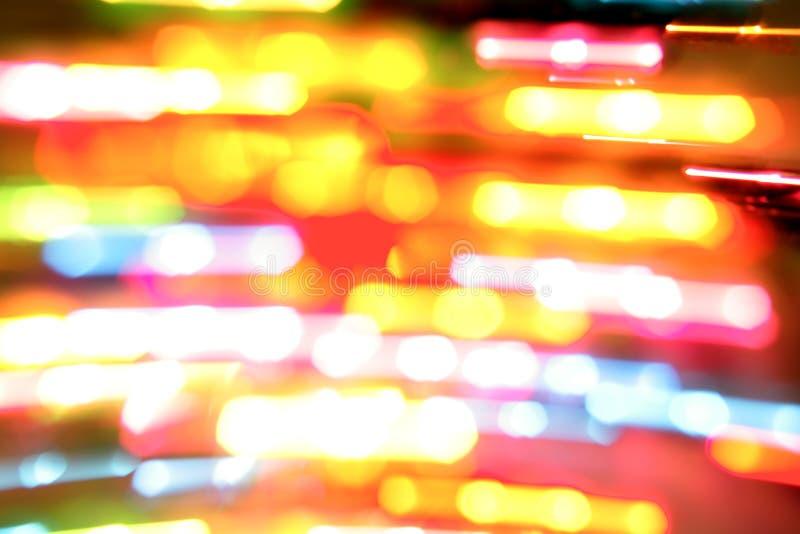Borrões coloridos da luz imagem de stock royalty free