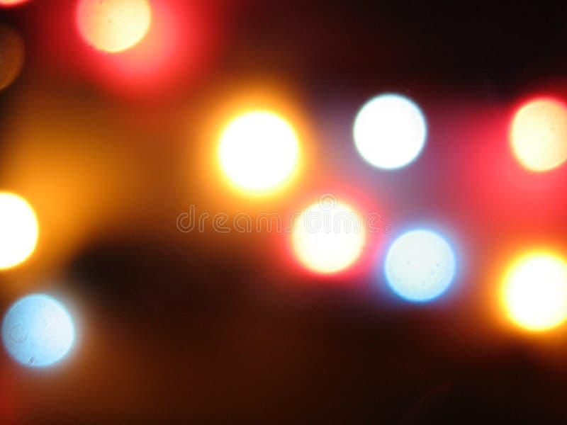 Borrões da luz foto de stock