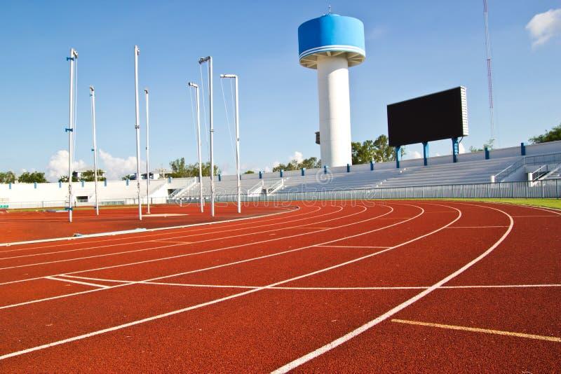 Borracha da pista de atletismo imagem de stock royalty free