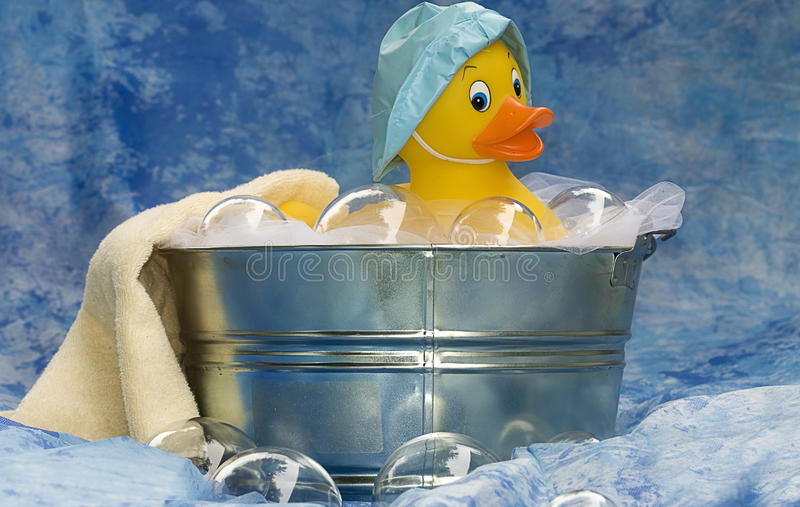 Borracha Ducky fotografia de stock royalty free