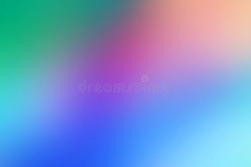 Borrado abstrato conceptual, inclinação, fundo multicolour, artístico ilustração do vetor