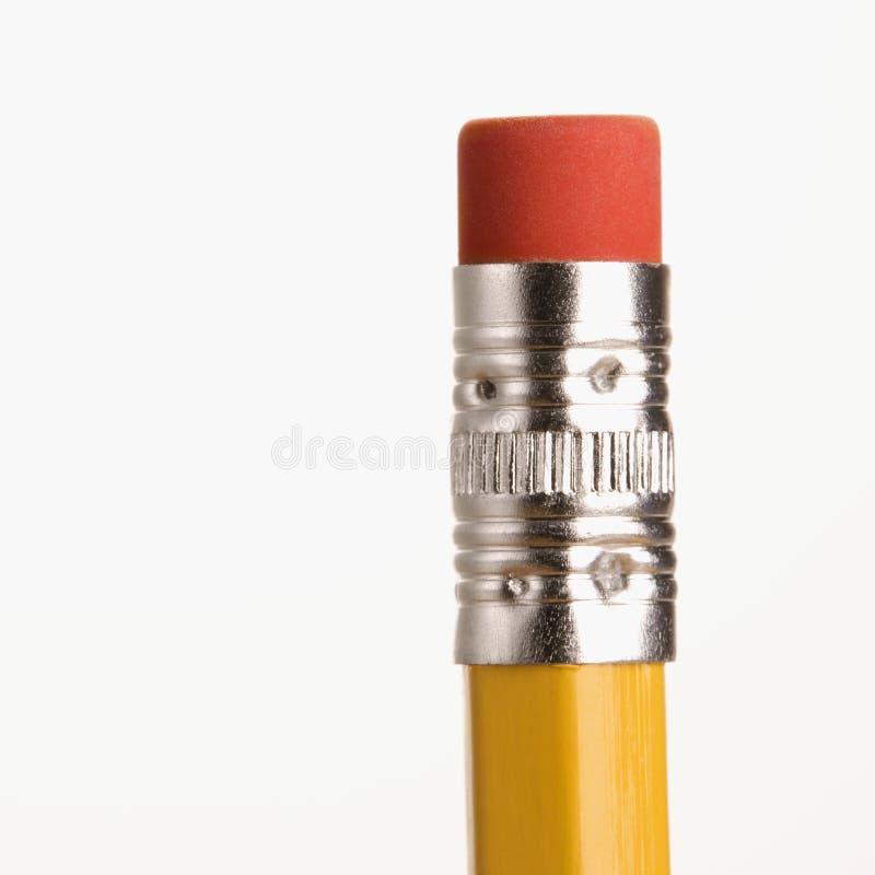 Borrador en el lápiz. imagen de archivo