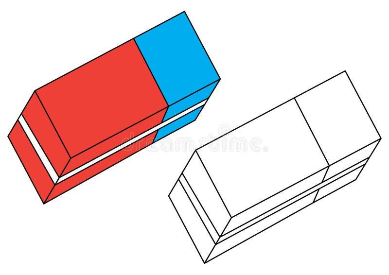 Borrador Página Que Colorea Vector Ilustración Del Vector