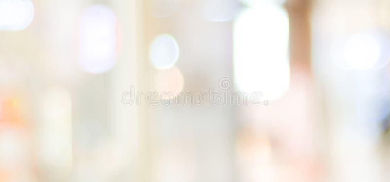 Borre o fundo abstrato, luz brilhante borrada do inclinação cinzento com contexto do espaço da cópia, bandeira, escritório para n foto de stock royalty free