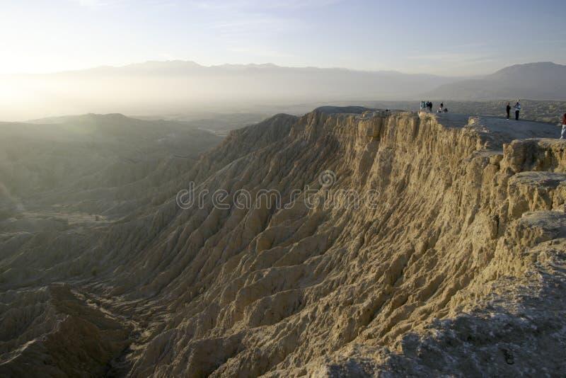 Borrego Badlands Canyon stock image