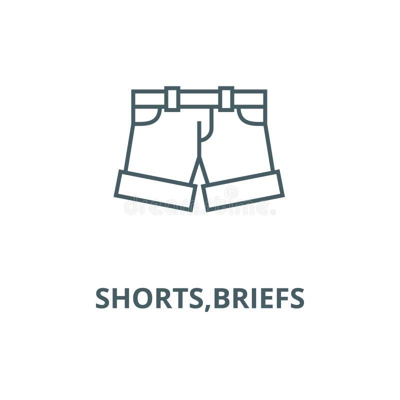 Borrels, pictogram van de memoranda het vectorlijn, lineair concept, overzichtsteken, symbool stock illustratie