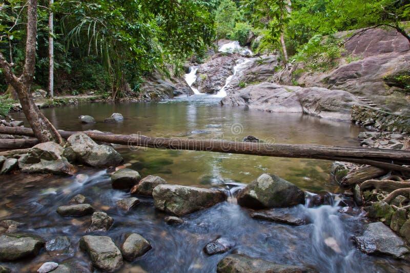 Borripat Waterfall In Satun, Thailand Royalty Free Stock Photography