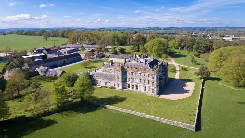 Borris House. Borris. county Carlow. Ireland. Family Home of the macMurrough Kavanaghs and weddings venue royalty free stock photography