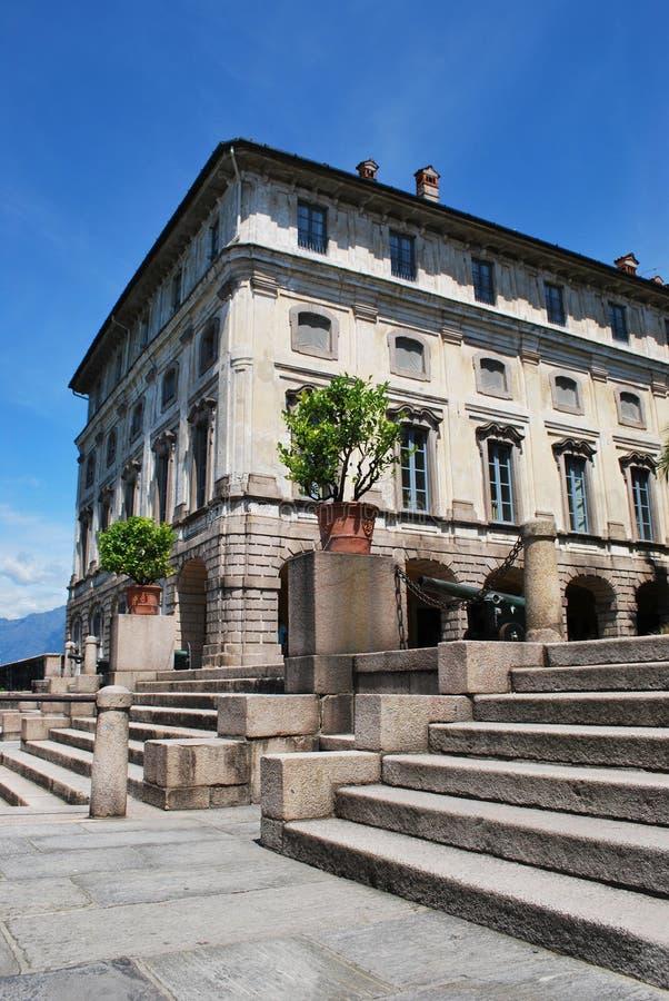 borromean παλάτι στοκ φωτογραφίες με δικαίωμα ελεύθερης χρήσης