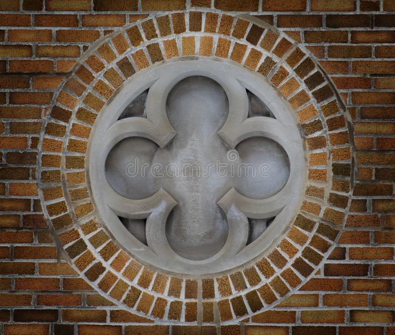 Borromean Light. A borrmean cross with a divine light being emited from it royalty free stock images