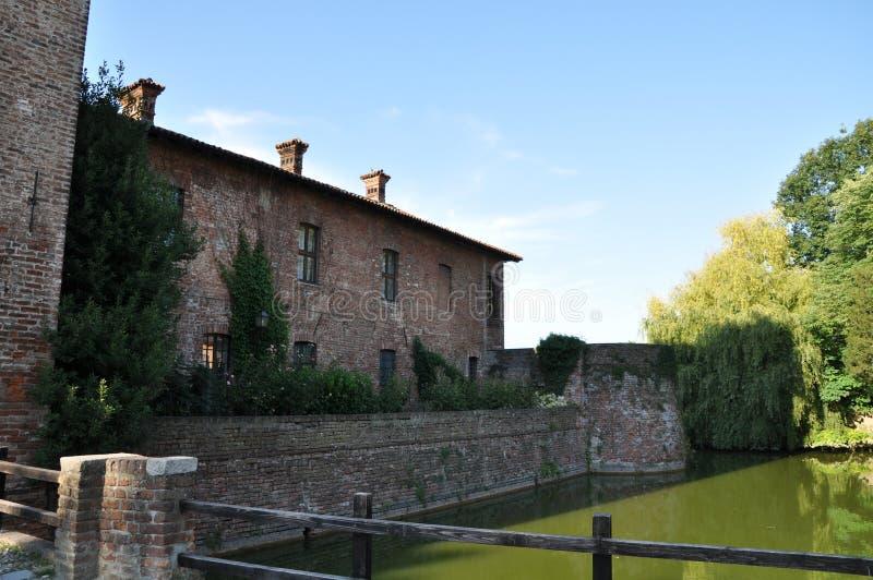 Borromeo-Schloss stockbild