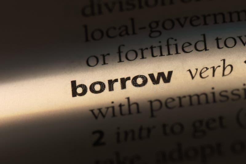 borrow lizenzfreie stockfotos