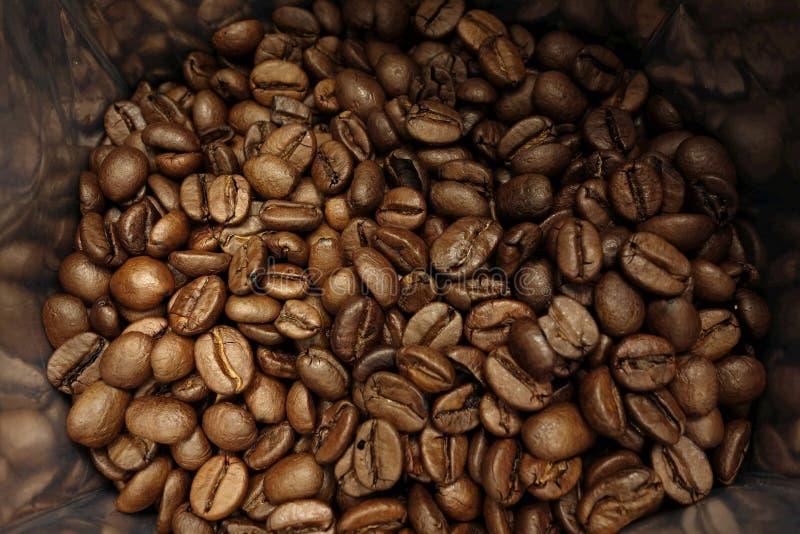 Borsa dei chicchi di caffè fotografia stock