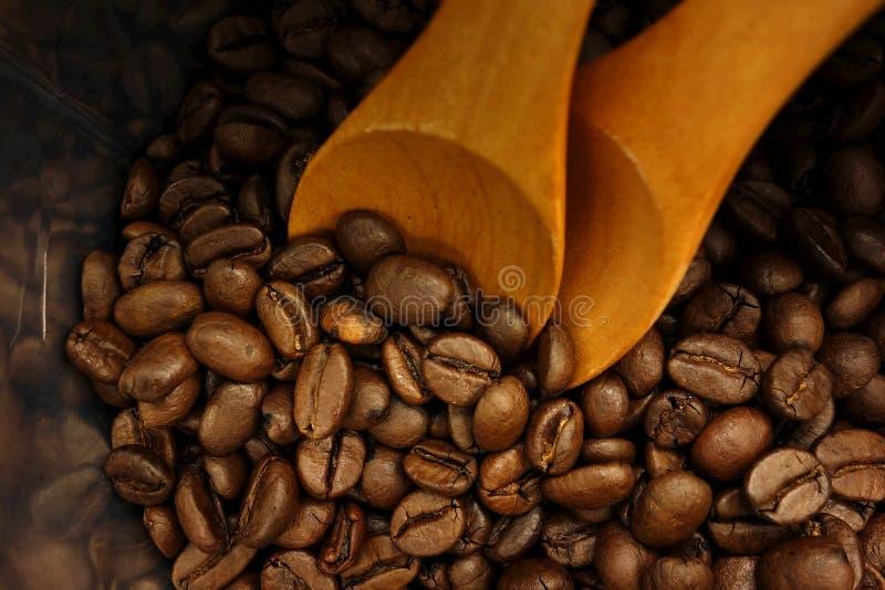 Borsa dei chicchi di caffè immagini stock libere da diritti