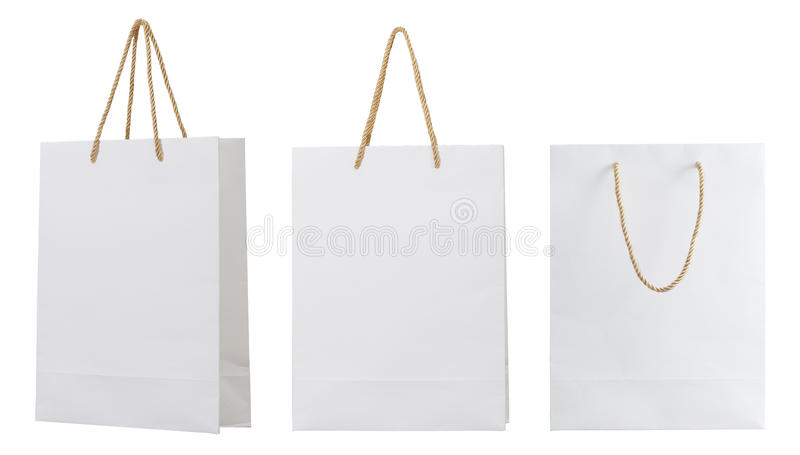 Borsa del Libro Bianco fotografie stock libere da diritti
