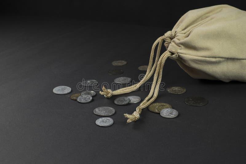 Borsa della moneta immagini stock libere da diritti