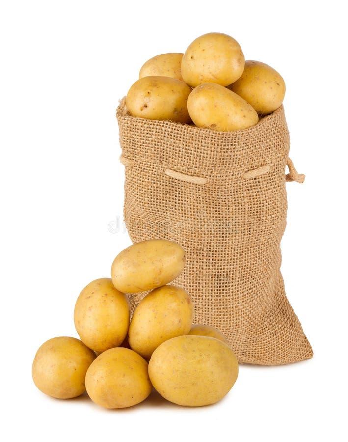 Borsa della patata fotografia stock