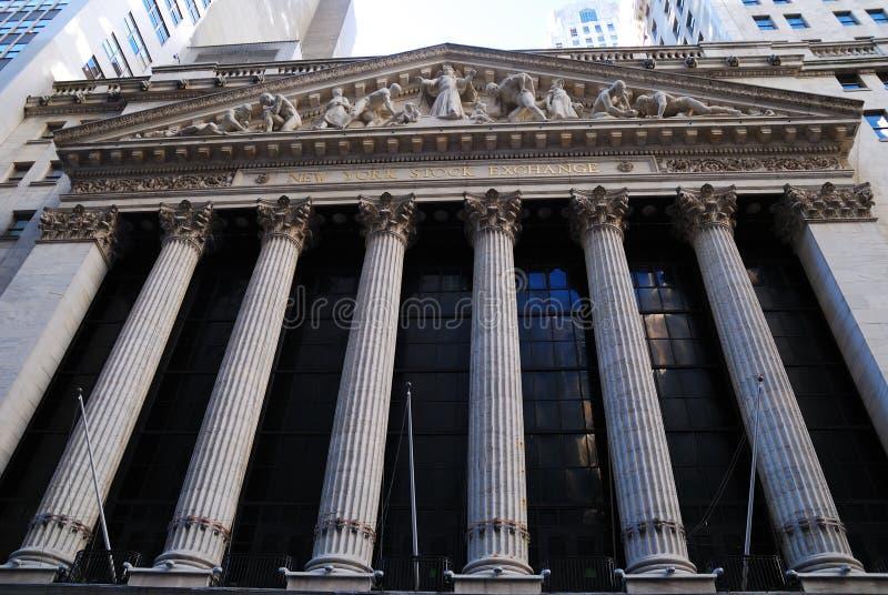 Borsa di New York del Wall Street fotografia stock libera da diritti