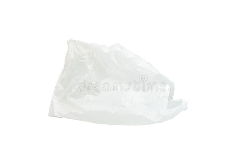 Borsa Di Plastica Isolata Sullo Sfondo Bianco immagine stock libera da diritti