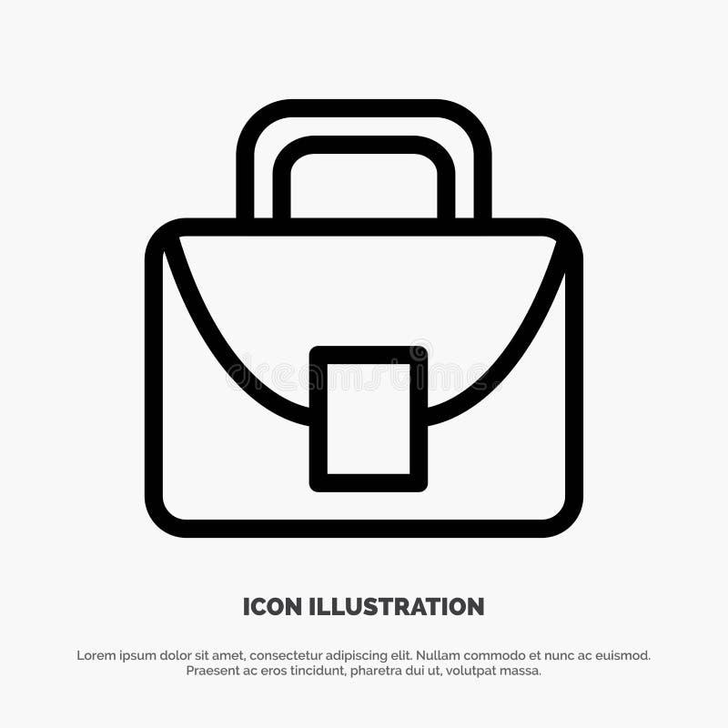 Borsa, lavoratore, linea logistica e globale vettore dell'icona royalty illustrazione gratis