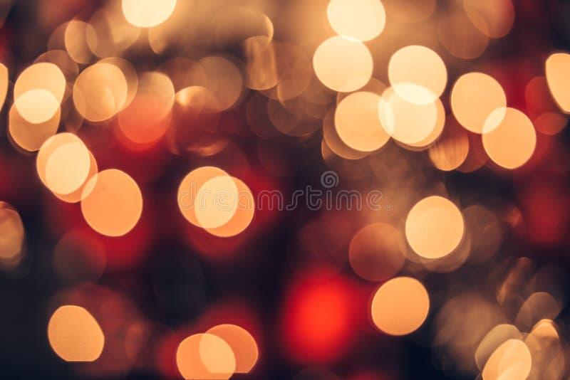 Borsa natalizia light abstract vacanze background immagini stock